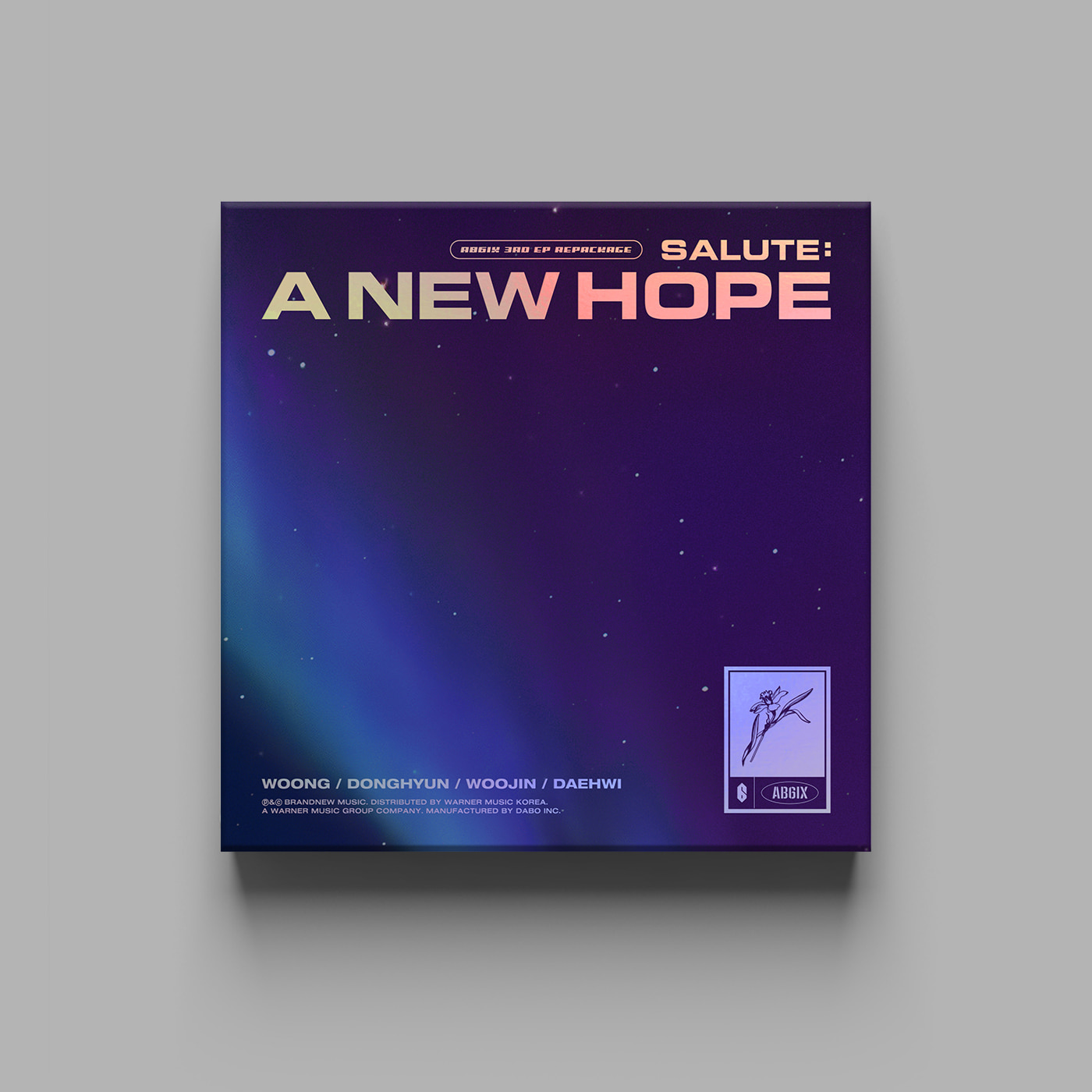 에이비식스(AB6IX) - 3RD EP REPACKAGE [SALUTE : A NEW HOPE] (HOPE Ver.)케이팝스토어(kpop store)